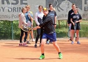 Obóz tenisowy w Sławie